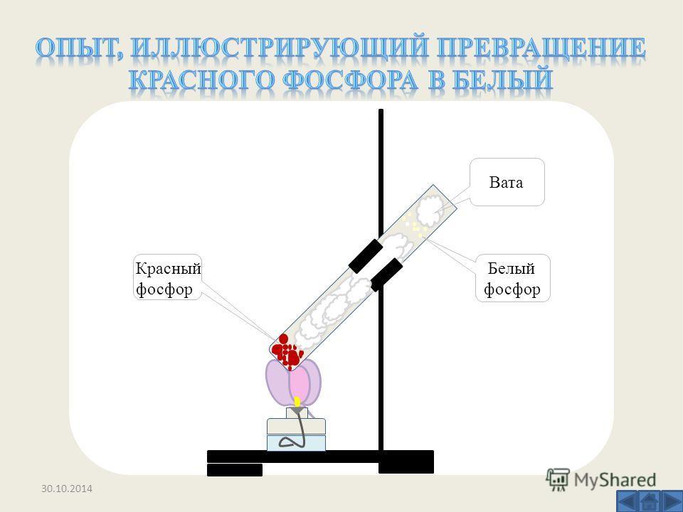 Вата Белый фосфор Красный фосфор 30.10.20147