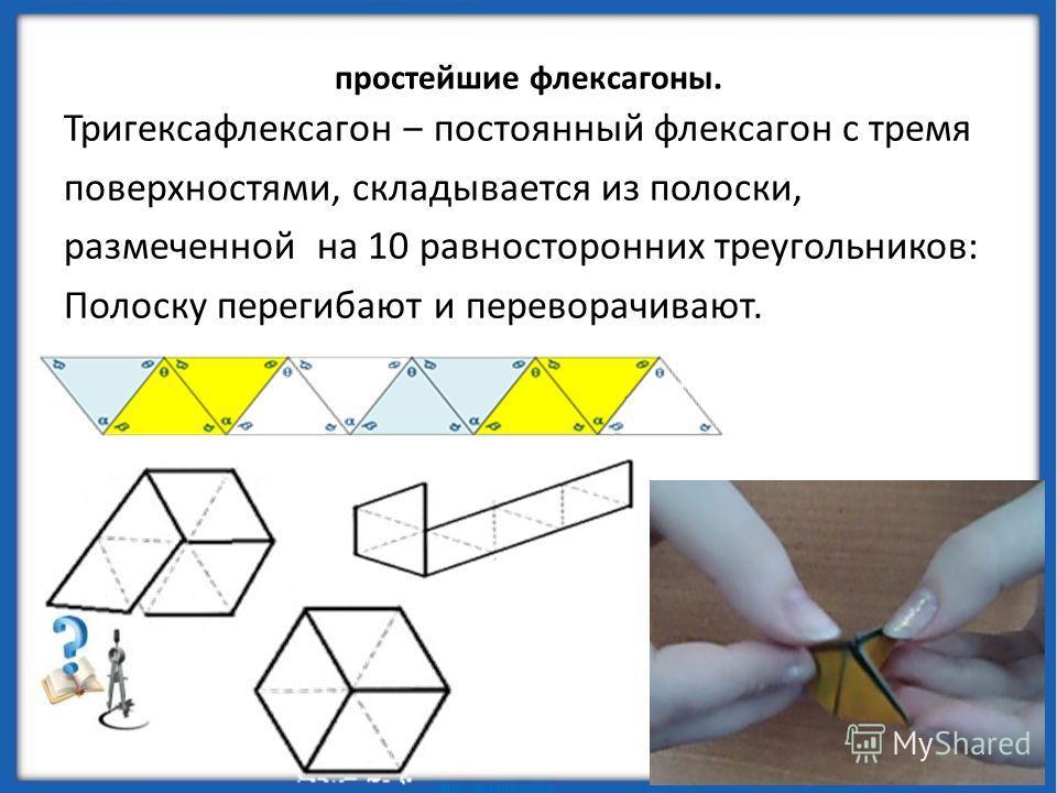 Флексманы переводятся как «гнущиеся человечки». У них действительно человеческий дар: когда флексман ставят на отклоненную под углом плоскость, он начинает «идти» по ней мелкими шажками. Флексман делают из квадрата бумаги, который сгибают по диагонал