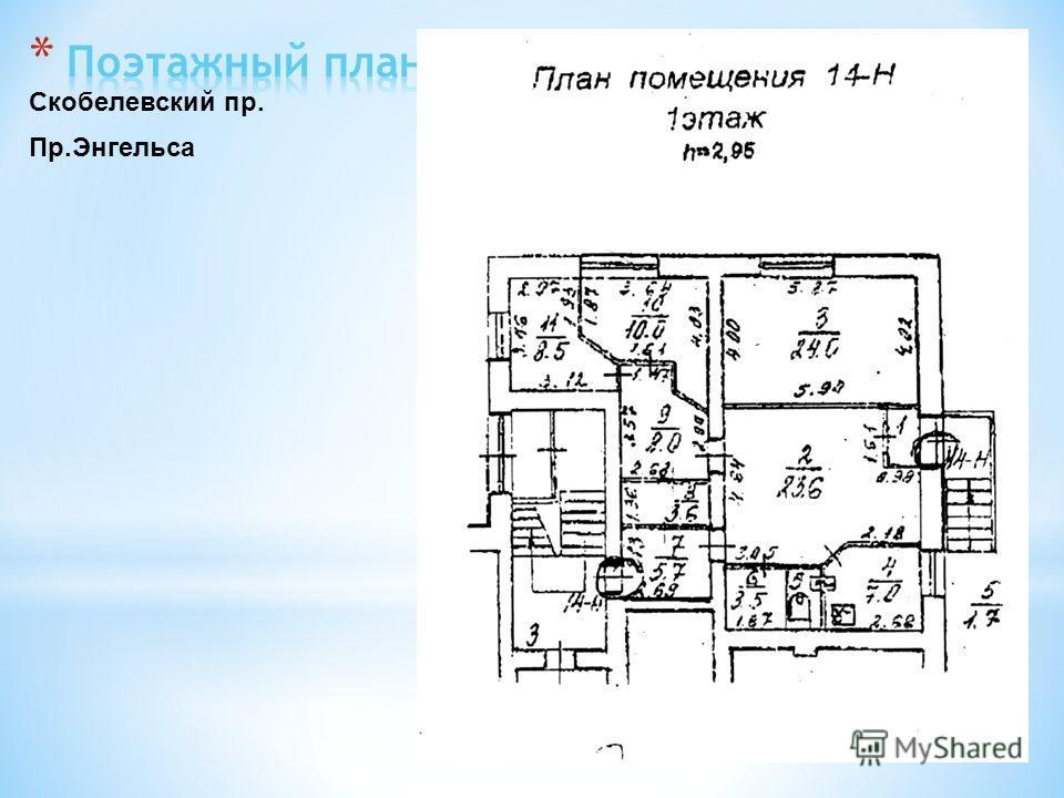 Пр.Энгельса Скобелевский пр.