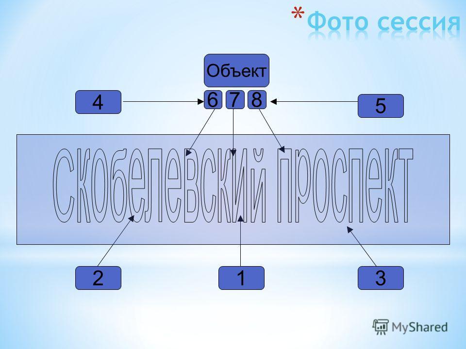 Объект 32 4 6 1 5 7 8