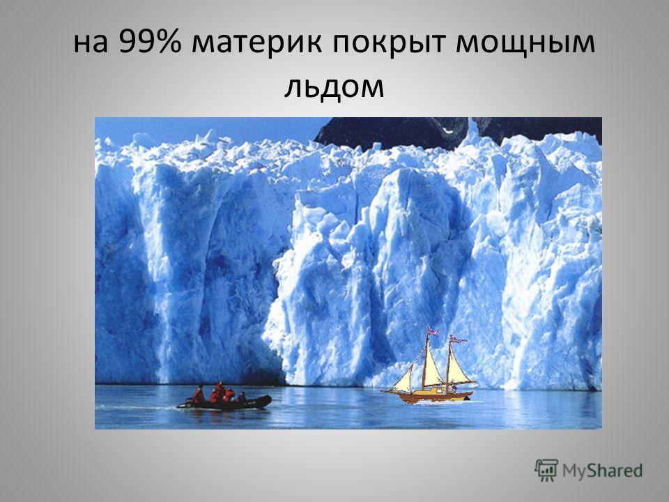 1. Географическое положение. 1) материк почти весь расположен в пределах южного полярного круга; 2) находится в холодном антарктическом климатическом поясе; 3) от других материков отделён огромным океаническим пространством - омывает 3 океана; 4) пок
