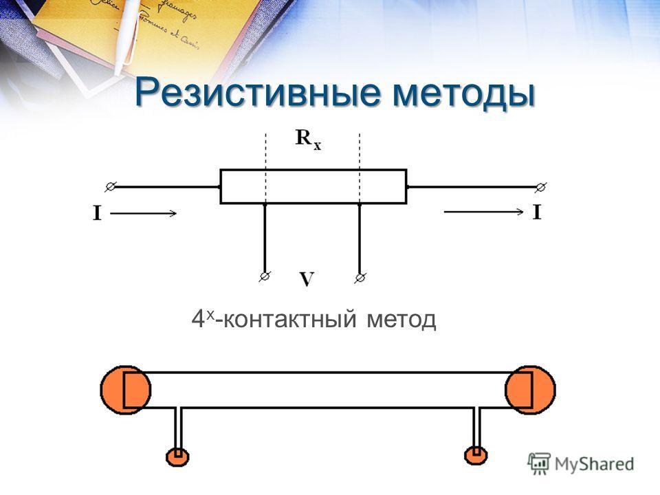 Резистивные методы 4 х -контактный метод