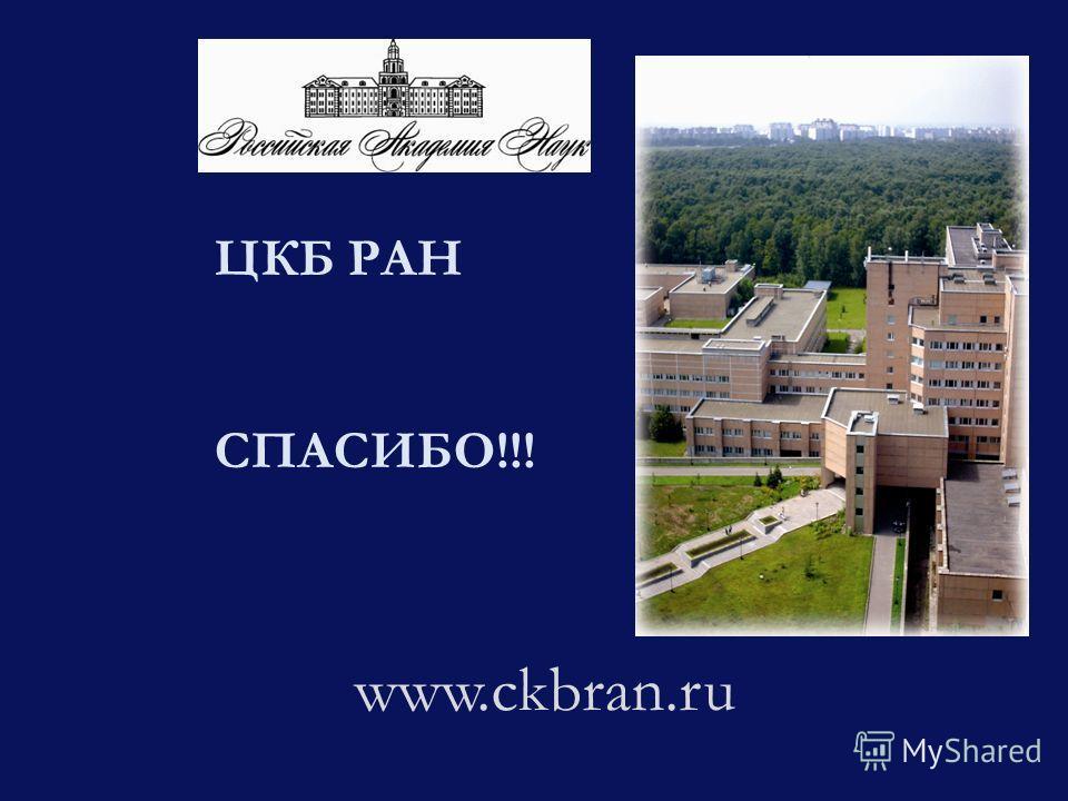 ЦКБ РАН СПАСИБО!!! www.ckbran.ru