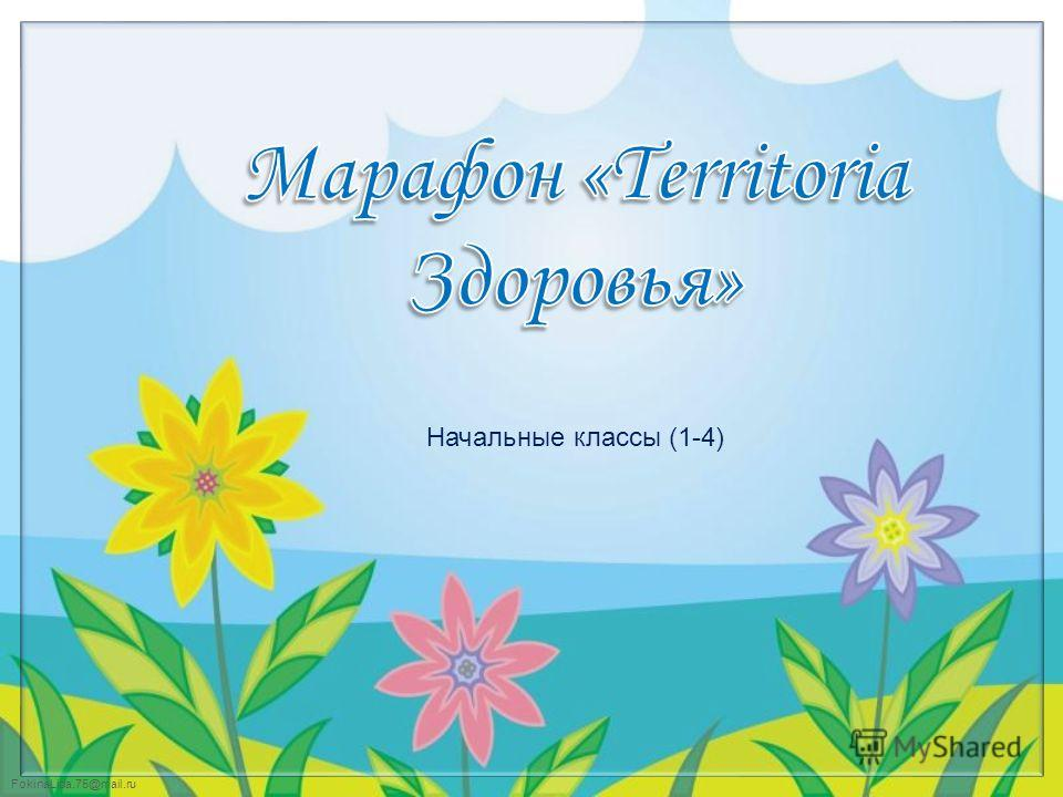 FokinaLida.75@mail.ru Начальные классы (1-4)