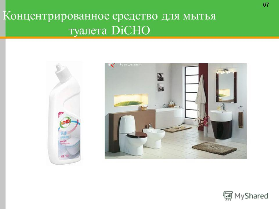67 Концентрированное средство для мытья туалета DiCHO