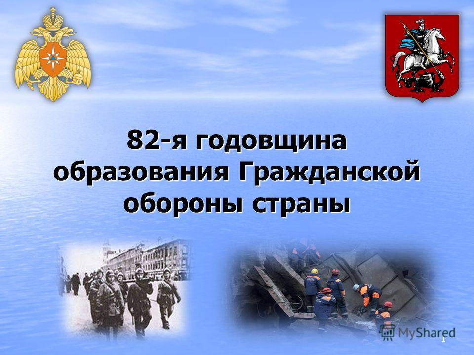 82-я годовщина образования Гражданской обороны страны 1