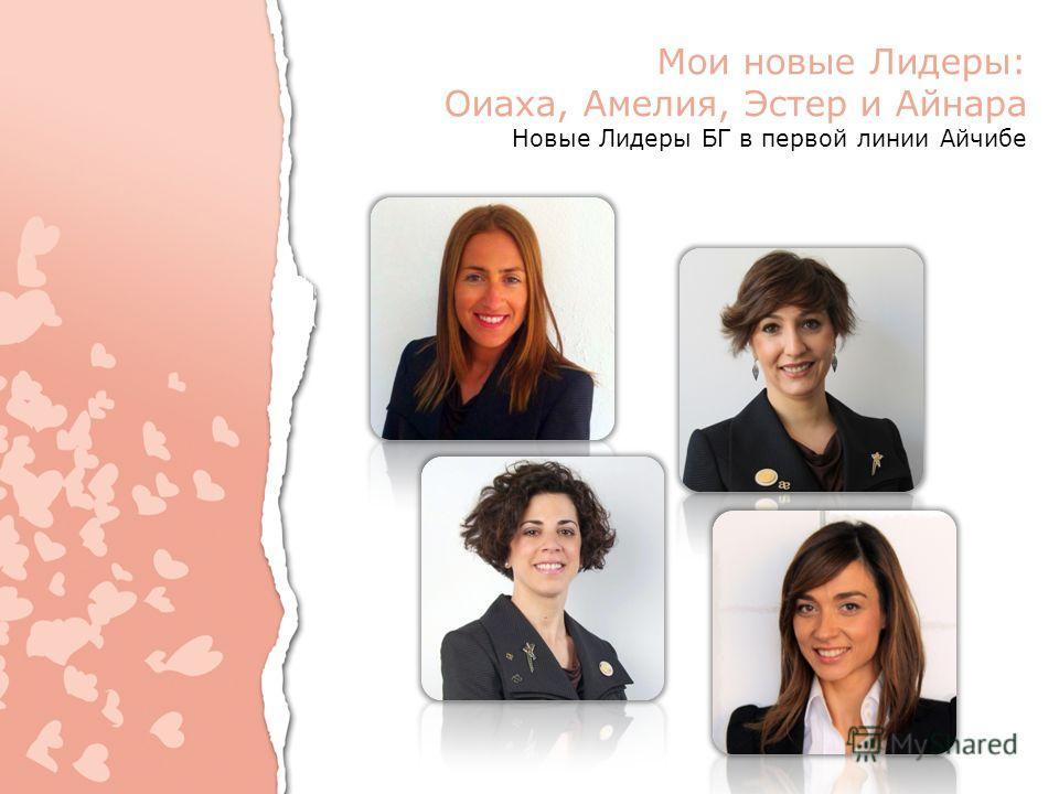 Мои новые Лидеры: Оиаха, Амелия, Эстер и Айнара Новые Лидеры БГ в первой линии Айчибе