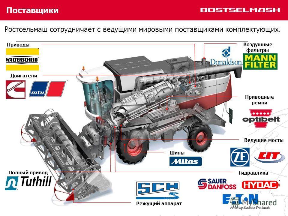 Ведущие мосты тракторов «Кировец» К-700, К-700А, К-701.