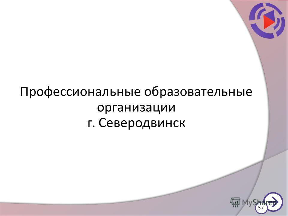 Профессиональные образовательные организации г. Северодвинск 57