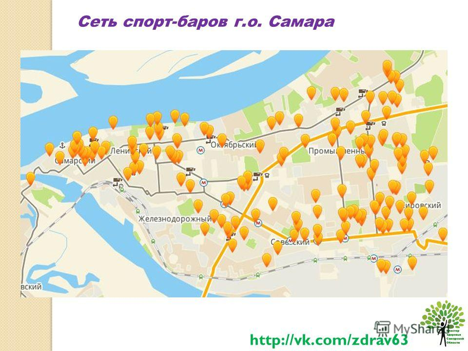 Сеть спорт-баров г.о. Самара http://vk.com/zdrav63