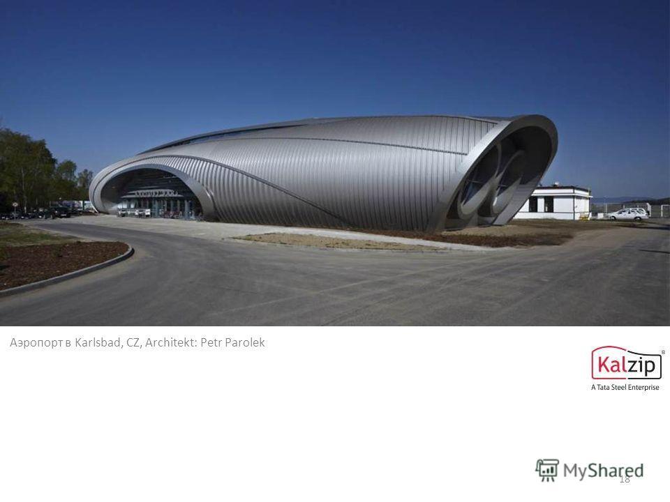 18 Аэропорт в Karlsbad, CZ, Architekt: Petr Parolek
