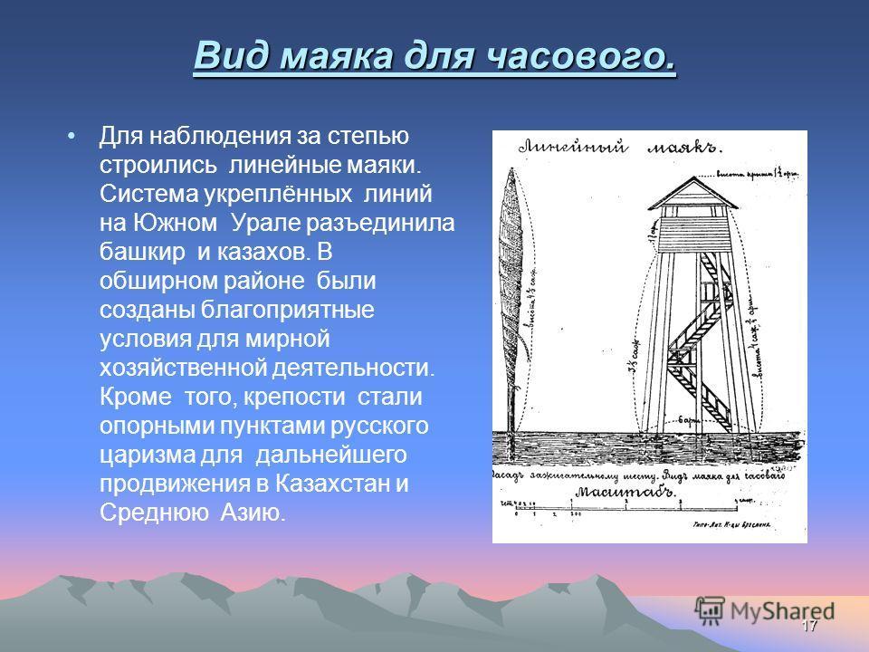 16 Крепость Магнитная. Летом 1743 года И.И.Неплюев определил место строительства новой крепости, которая получила название – Магнитная.Выбор названия был не случаен: в шести верстах к северо- востоку от крепости раскинулась гора, рудные залежи которо