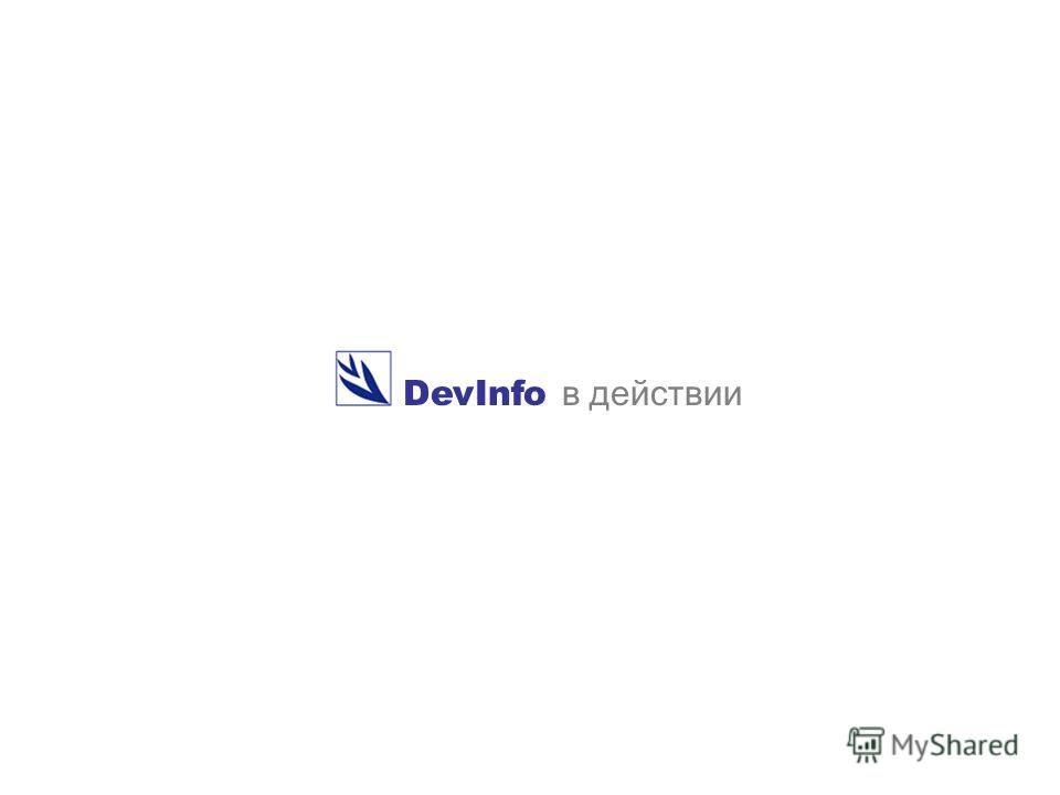 DevInfo в действии