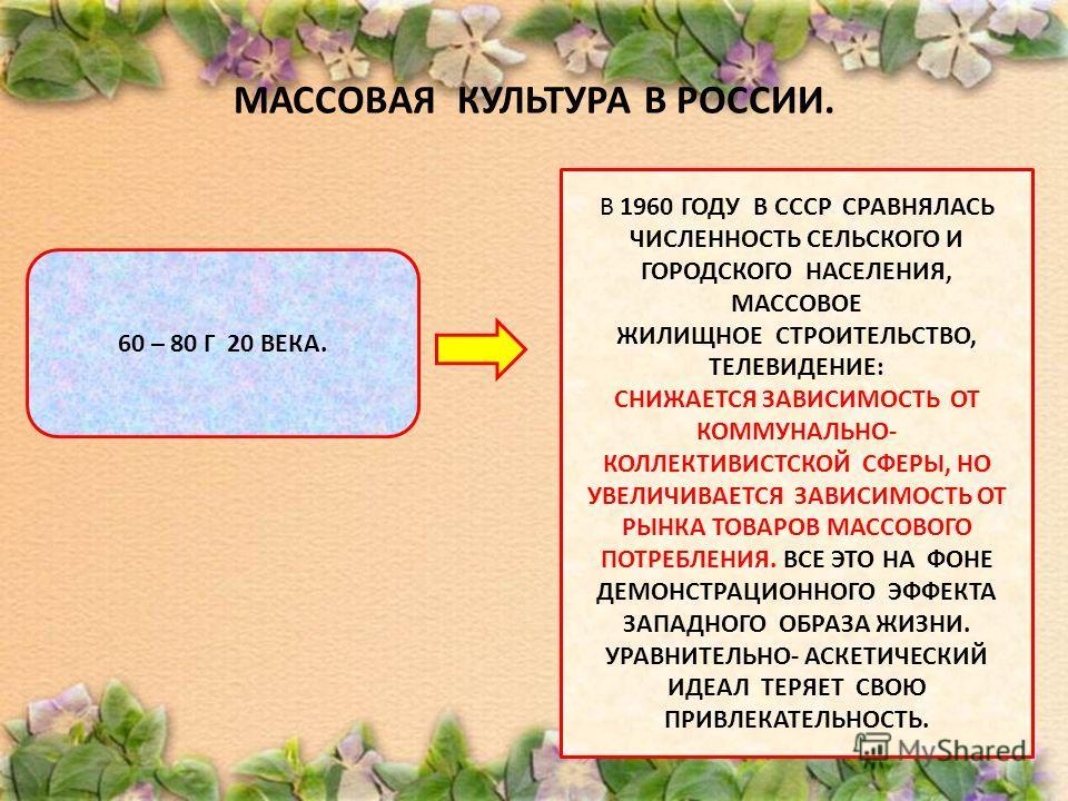 МАССОВАЯ КУЛЬТУРА В РОССИИ. ПОСЛЕДНИЕ ДЕСЯТИЛЕТИЯ 19 в ЗАРОЖДЕНИЕ МАССОВОГО ОБЩЕСТВА В РОССИИ –МАССОВОЕ ФАБРИЧНОЕ ПРОИЗВОДСТВО И МАССОВОЕ ПОТРЕБЛЕНИЕ: 1.«КУЗНЕЦОВСКИЙ ФАРФОР», МЕБЕЛЬ, 2.ДИЗАЙН, МНОГОТИРАЖКИ, КОММЕРЧЕСКИЕ ТЕАТРЫ, МАССОВАЯ ЛИТЕРАТУРА.