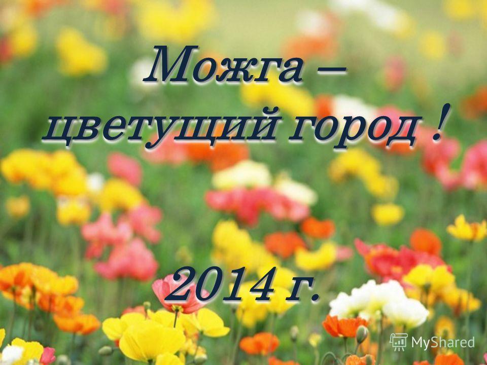 Можга – цветущий город ! 2014 г. Можга – цветущий город ! 2014 г.