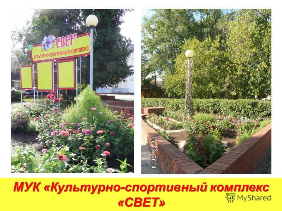 МУК «Культурно-спортивный комплекс «СВЕТ»