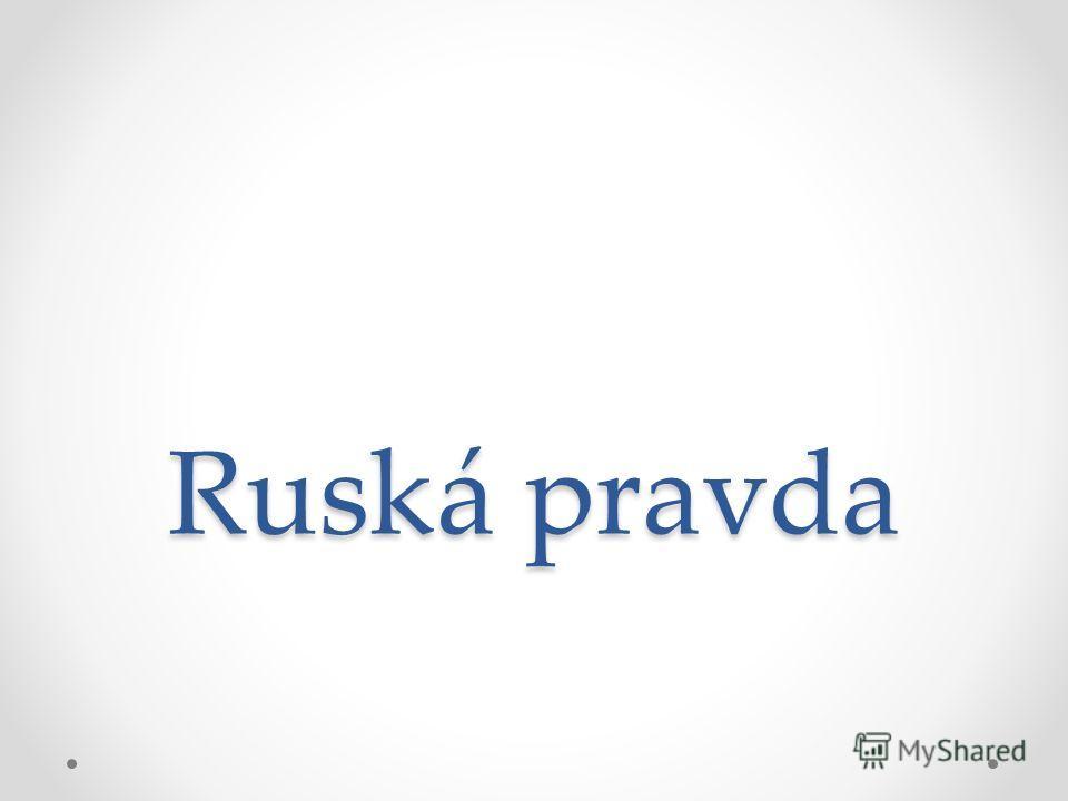Ruská pravda