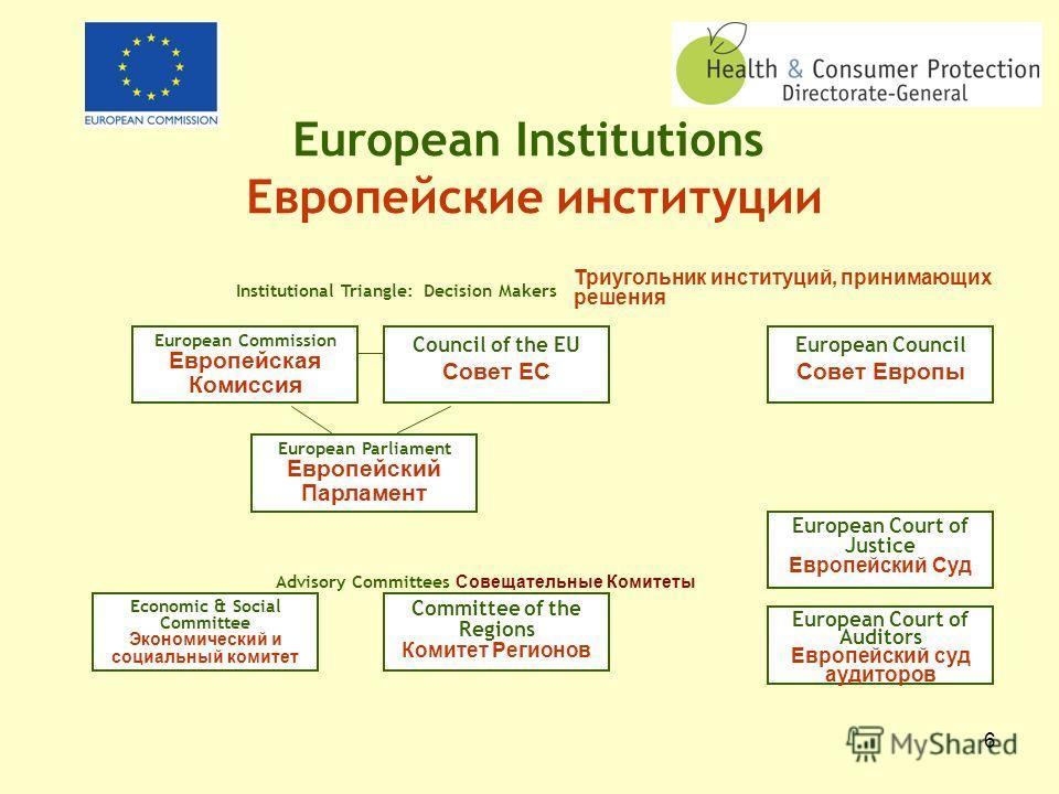 5 The European Union: 27 Member States 3 Candidate Countries Европейский Союз: 27 Стран- Членов 3 Страны- Кандидаты