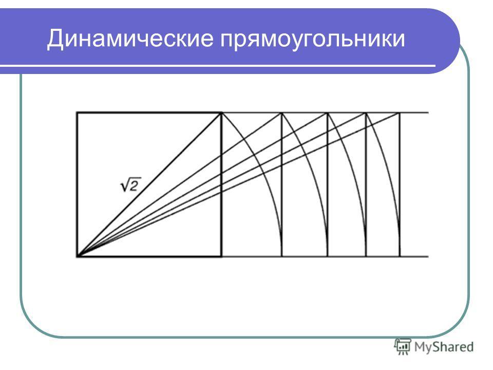 Презентация на тему Золотое сечение Хен Евгения Группа Л  4 Динамические прямоугольники
