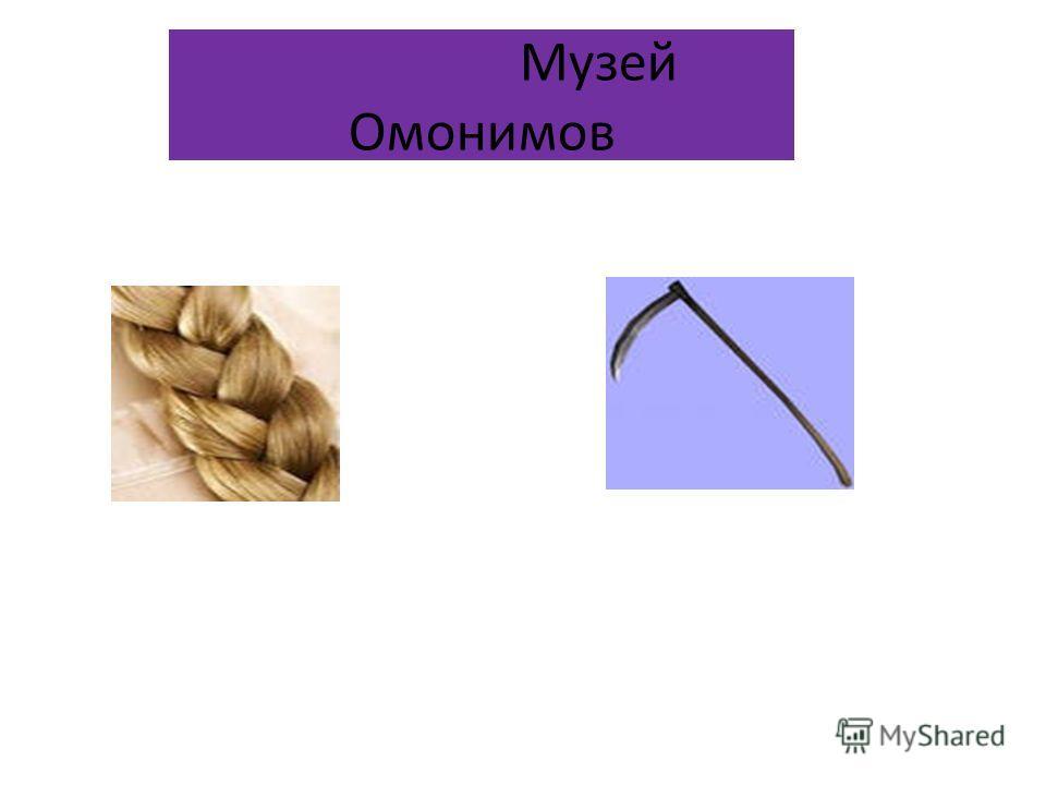 Музей Омонимов