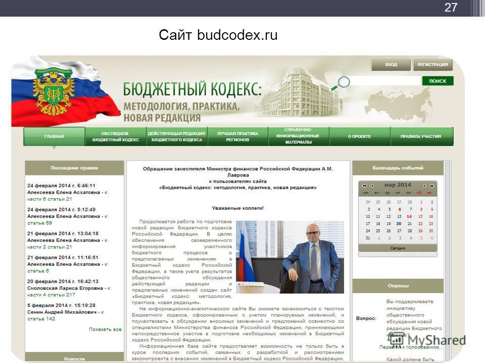 Сайт budcodex.ru 27
