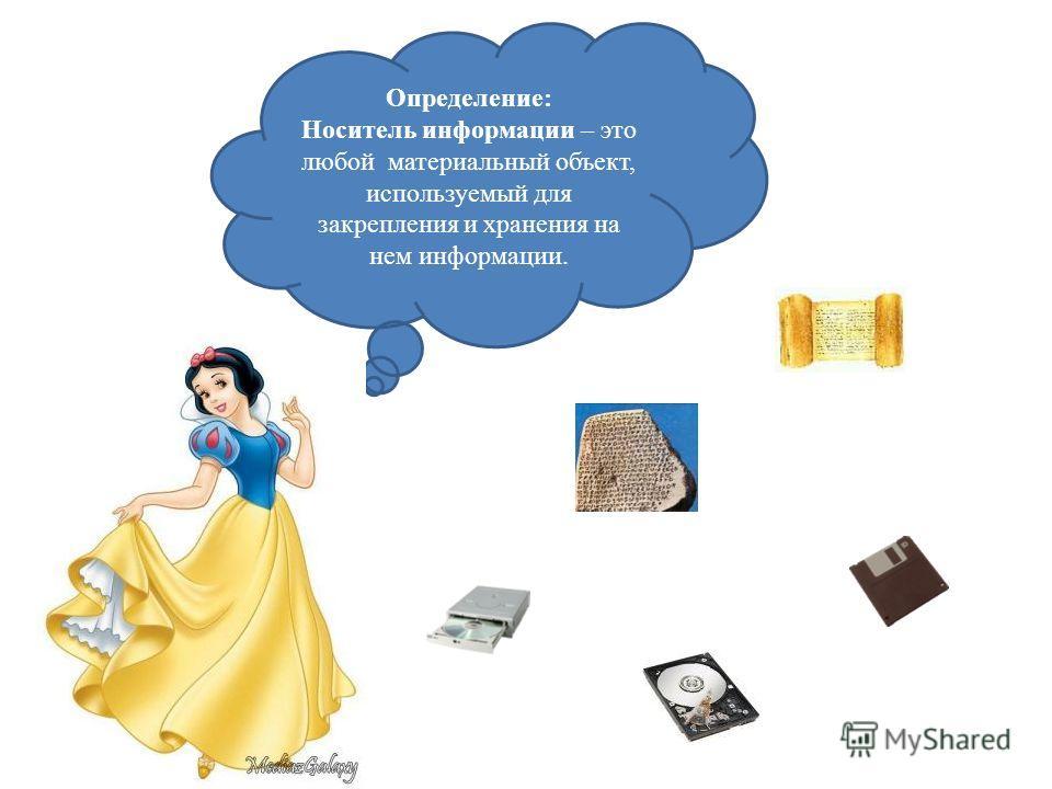 Современные носители информации В современном обществе можно выделить три основных вида носителей информации: 1) бумажный; 2) магнитный; 3) оптический.