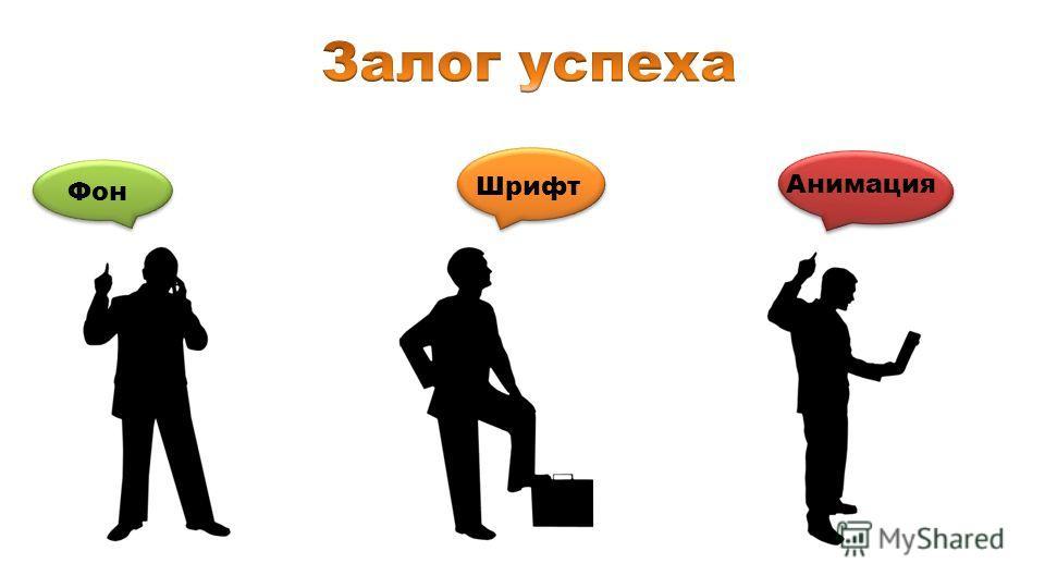 Фон Шрифт Анимация