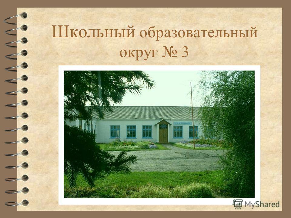 Для добавления текста щелкните мышью Школьный образовательный округ 3