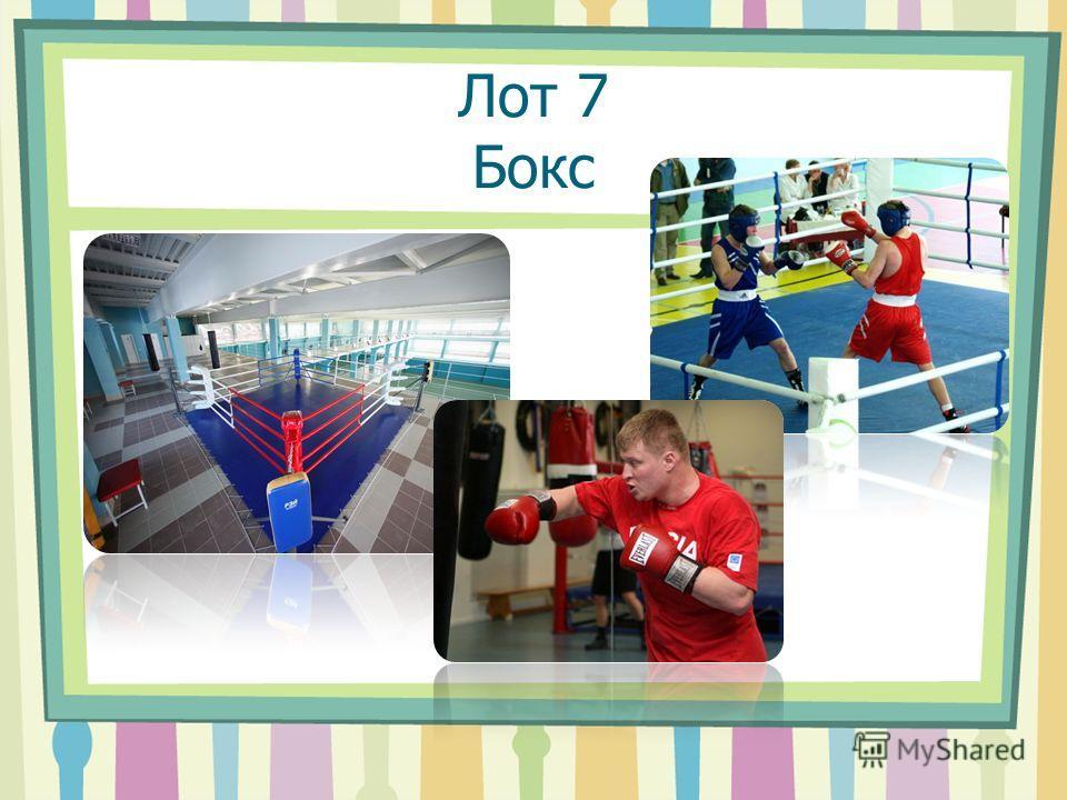 Лот 7 Бокс