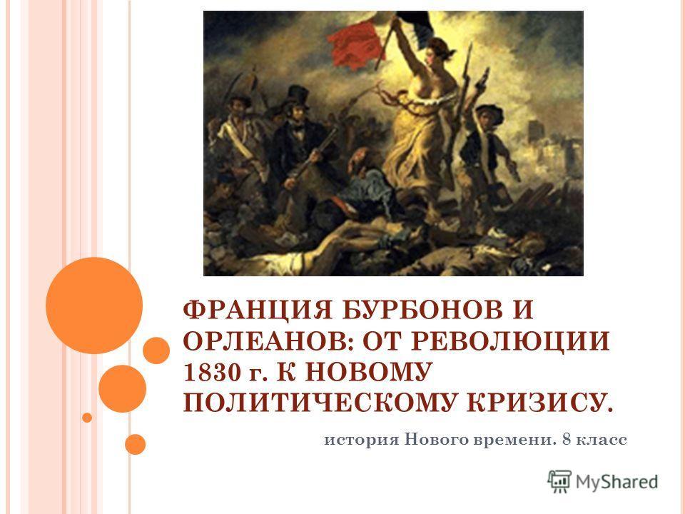 Презентация Революция 1830 Во Франции