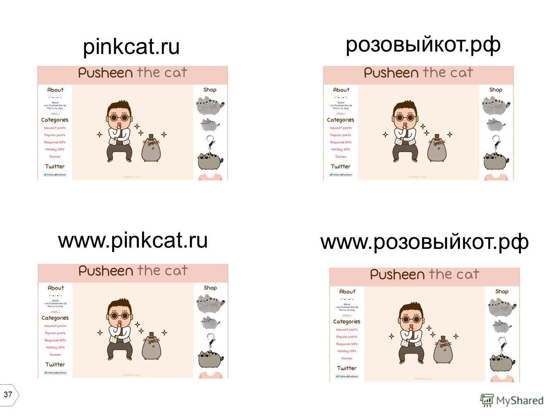 37 pinkcat.ru www.розовый кот.рф www.pinkcat.ru розовый кот.рф