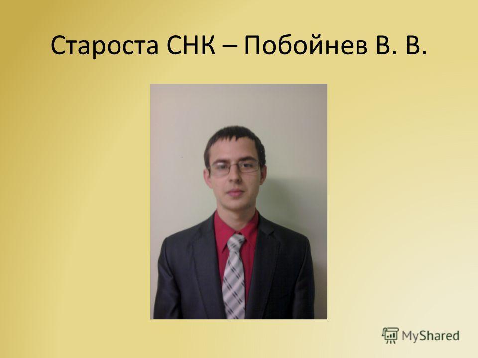 Научный руководитель СНК – Латушко Т. В. 2001-2014