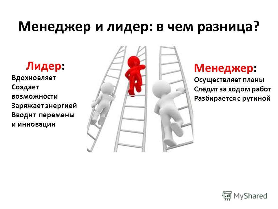 Это тот, кто не только знает, куда он идет, но и ведет за собой других людей. В этом основа любого лидерства.