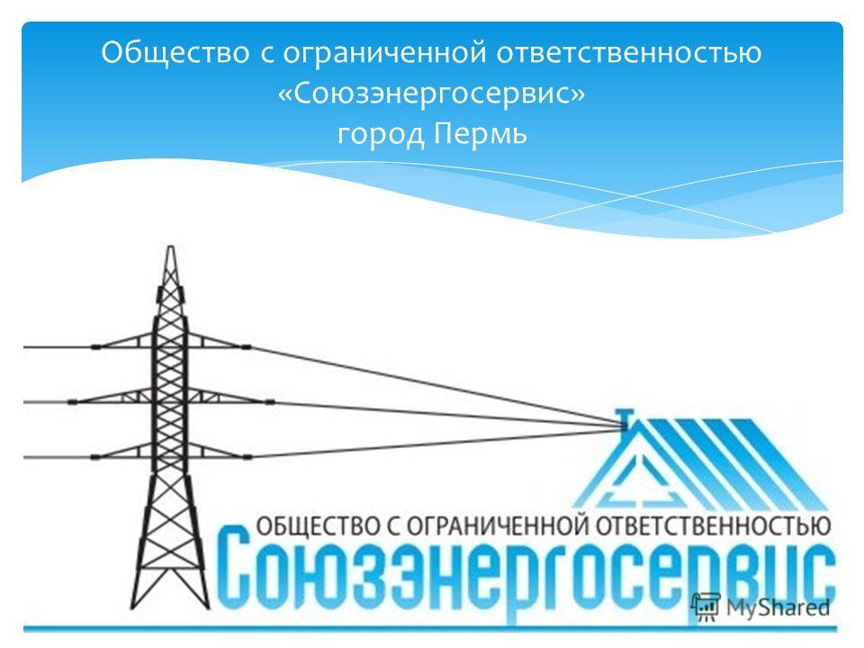 Общество с ограниченной ответственностью «Союзэнергосервис» город Пермь