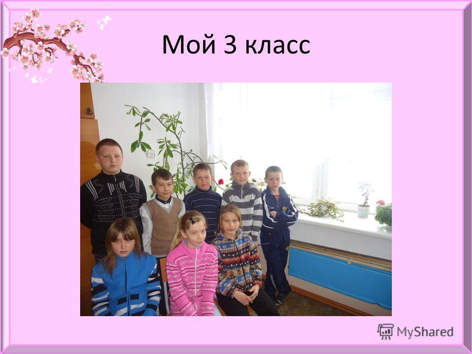 Мой 3 класс