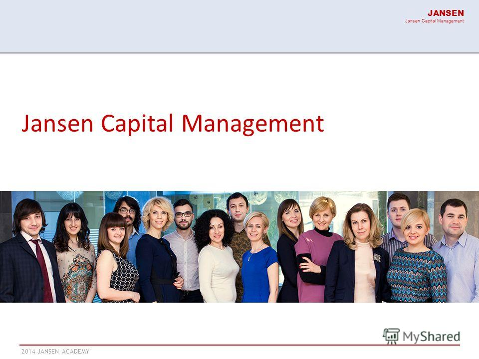 2014 JANSEN ACADEMY JANSEN Jansen Capital Management