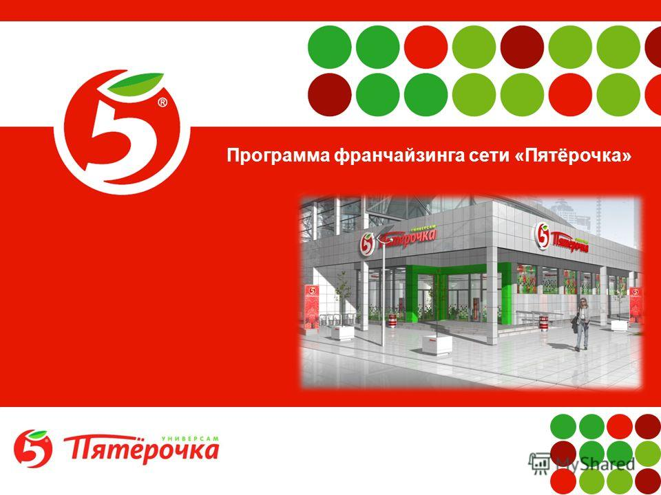 1 Программа франчайзинга сети «Пятёрочка»