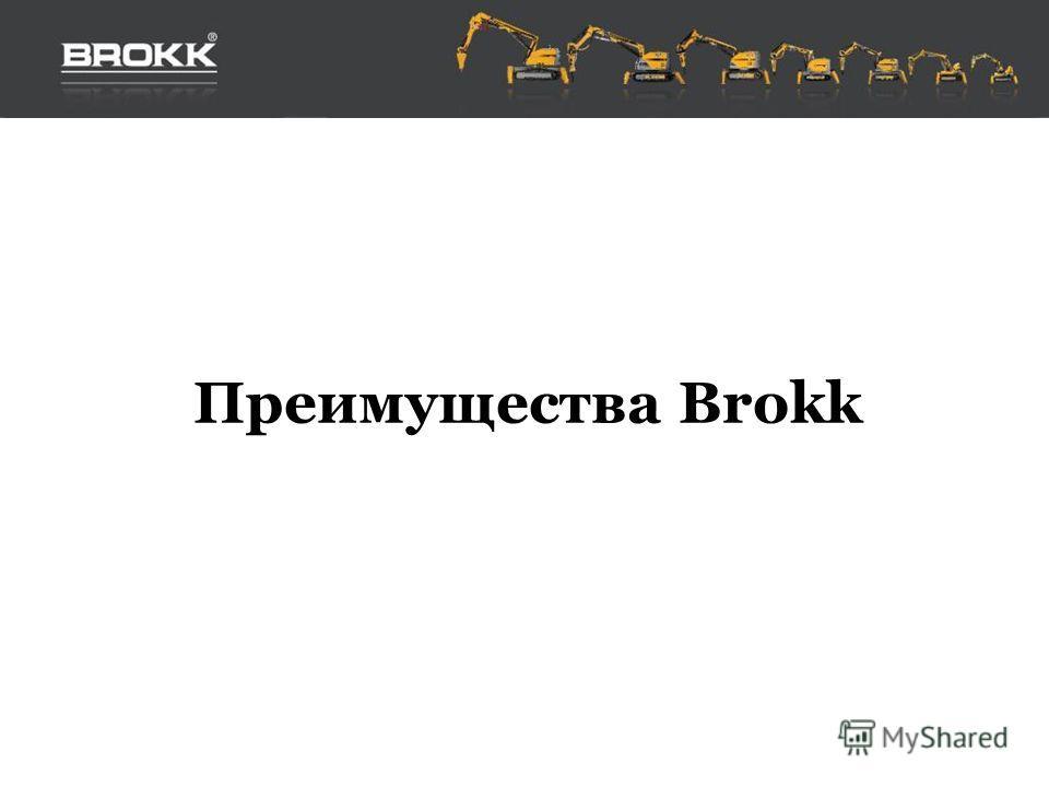 Преимущества Brokk