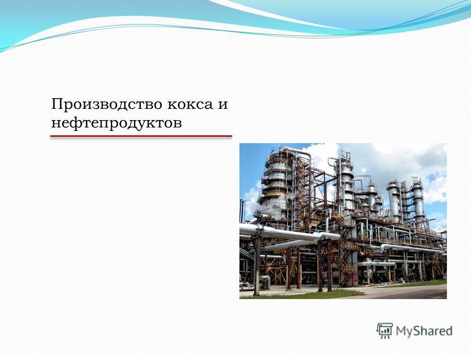 Производство кокса и нефтепродуктов