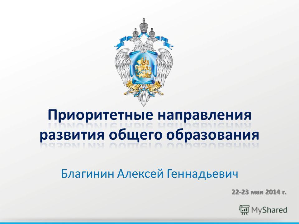 Благинин Алексей Геннадьевич 22-23 мая 2014 г.