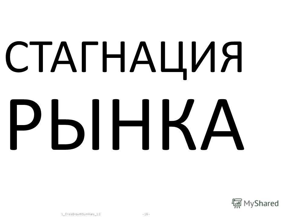 www.kachalov.com СТАГНАЦИЯ РЫНКА - 16 -1_CrisisGrowthSummary_1.2