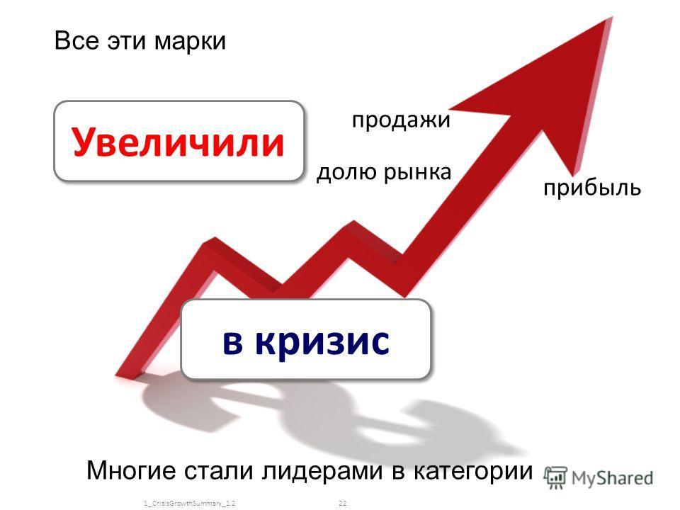 www.kachalov.com Увеличили продажи прибыль долю рынка в кризис Все эти марки Многие стали лидерами в категории 221_CrisisGrowthSummary_1.2