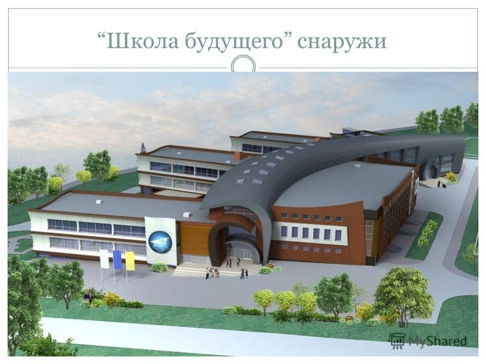 Школа будущего снаружи