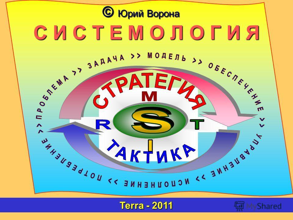 © Юрий Ворона С И С Т Е М О Л О Г И Я Terra - 2011