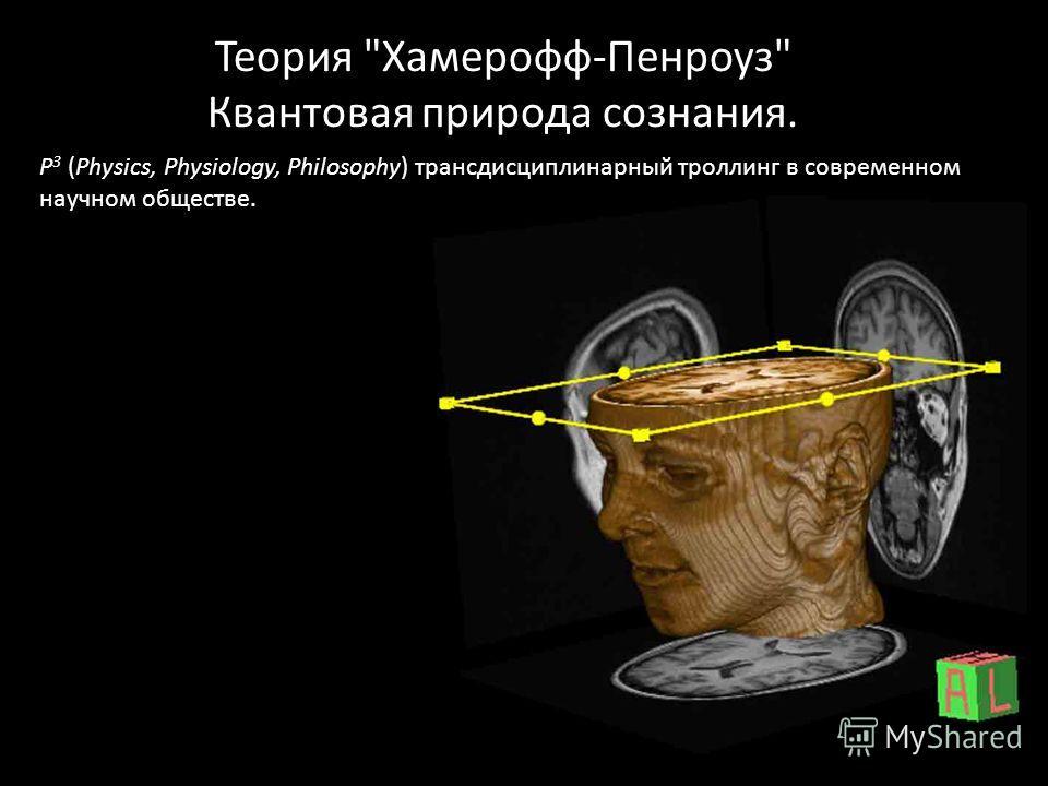 Теория Хамерофф-Пенроуз Квантовая природа сознания. P 3 (Physics, Physiology, Philosophy) трансдисциплинарный троллинг в современном научном обществе.