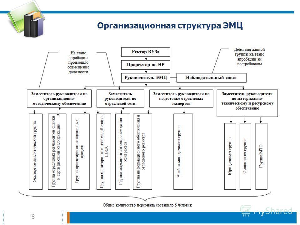 8 Организационная структура ЭМЦ