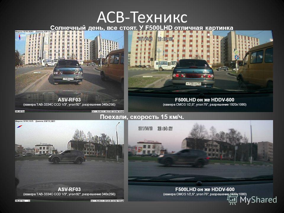 АСВ-Техникс ASV-RF03 (камера TAB-3334C CCD 1/3, угол 92°, разрешение 340 х 256) F500LHD он же HDDV-600 (камера CMOS 1/2,5, угол 75°, разрешение 1920 х 1080) ASV-RF03 (камера TAB-3334C CCD 1/3, угол 92°, разрешение 340 х 256) F500LHD он же HDDV-600 (к