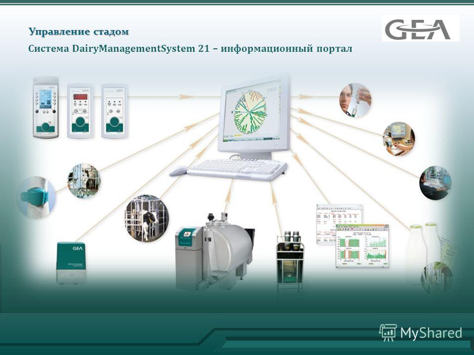 Управление стадом Система DairyManagementSystem 21 – информационный портал