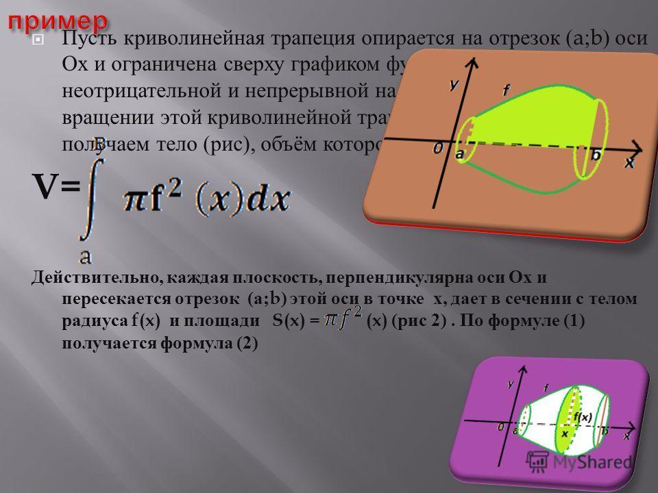 Презентации по теме двойной интеграл