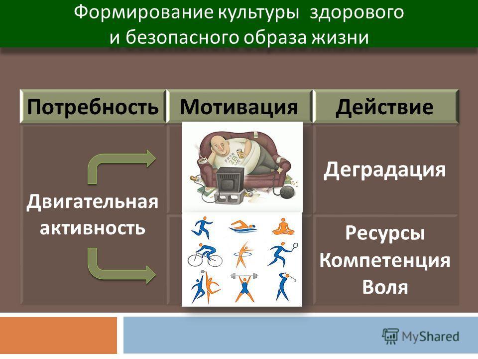 Формирование культуры здорового и безопасного образа жизни Формирование культуры здорового и безопасного образа жизни